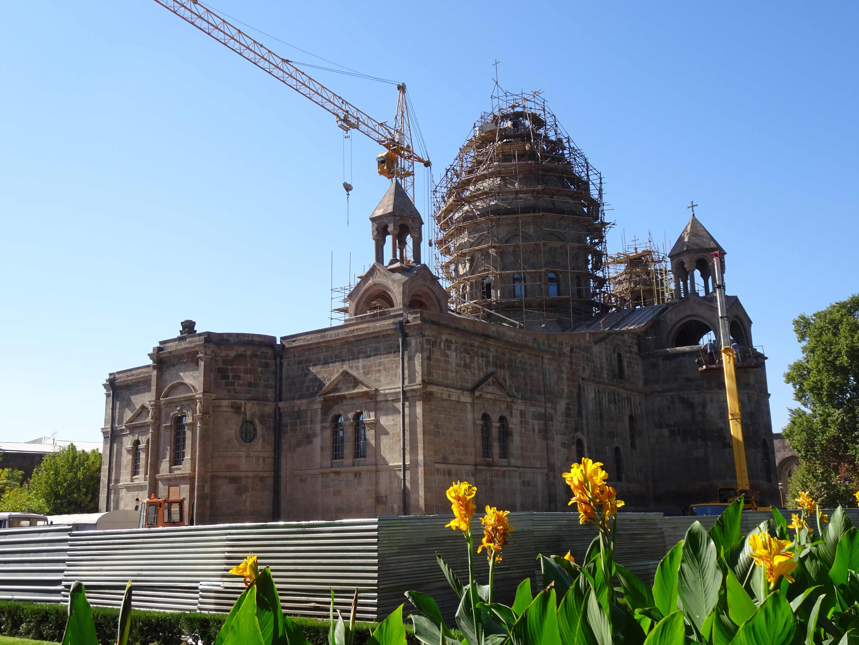 """Die Kathedrale, leider """"under construction"""""""