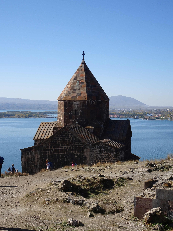 Das Kloster Sewanawank aus dem 9. Jhd.