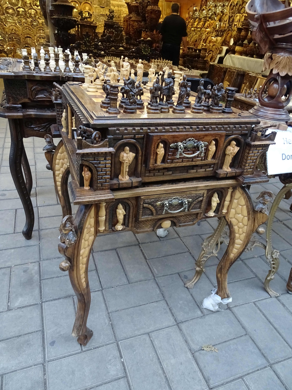 Eine armenische Leidenschaft: Schachspielen.