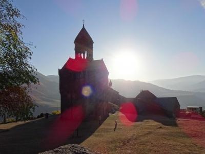 An jesidischen Dörfern vorbei, nahe der Grenze zu Georgien: das Kloster Haghpat