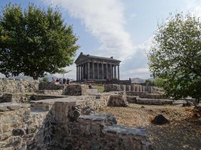 Garni mit einem hellenistischen Tempel aus dem 1. Jhd.
