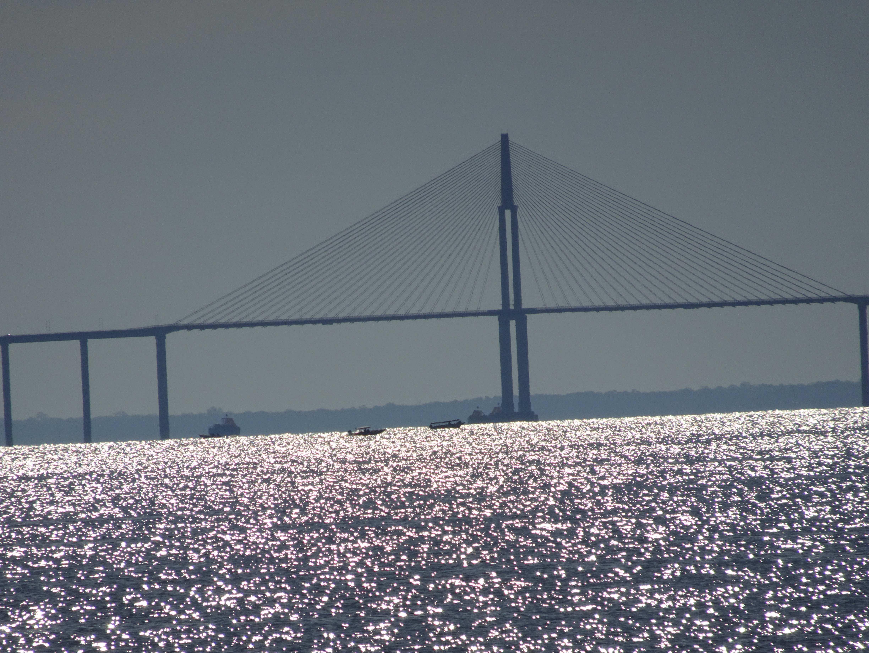 Die längste Flussbrücke der Welt.