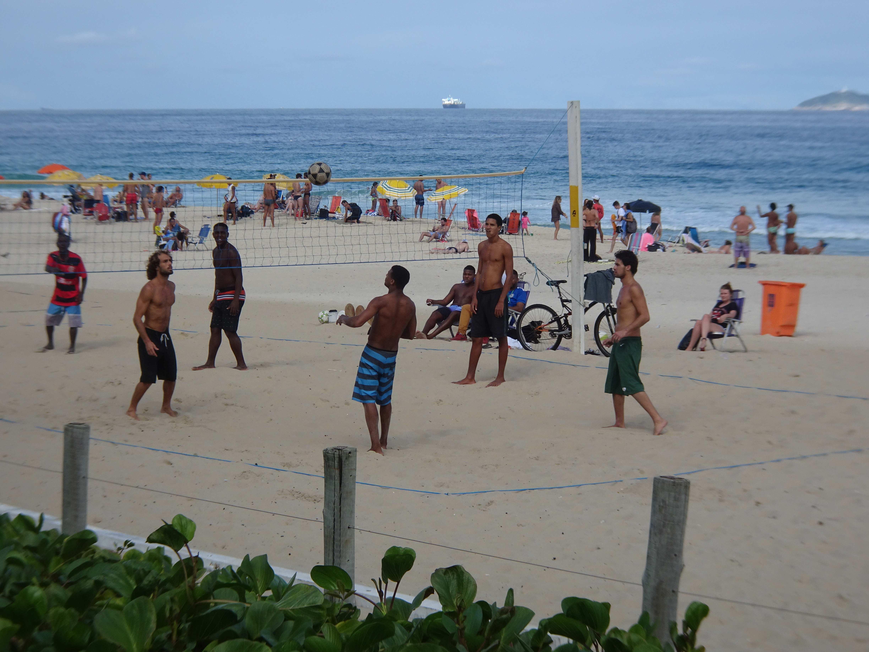 Zur Abwechselung mal der Strand von Ipanema,