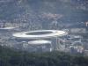 Das Maracana-Stadion von oben.