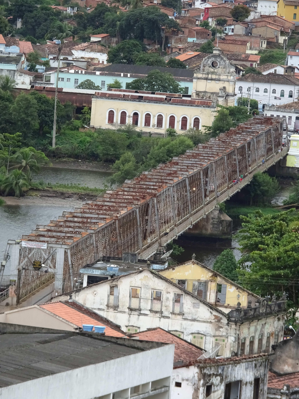 König Dom Pedro II. ließ diese Brücke erbauen.