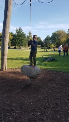 """Nochmal ein """"Großfamilienausflug"""" in den Park der Sinne"""