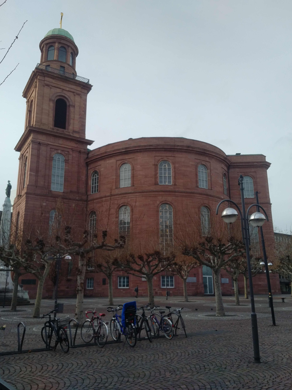 Frankfurt: Paulskirche...