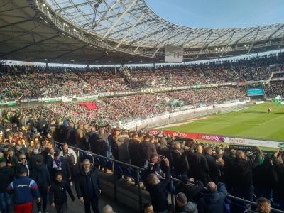 Derby gegen den HSV... aus den Vor-Corona-Zeiten....