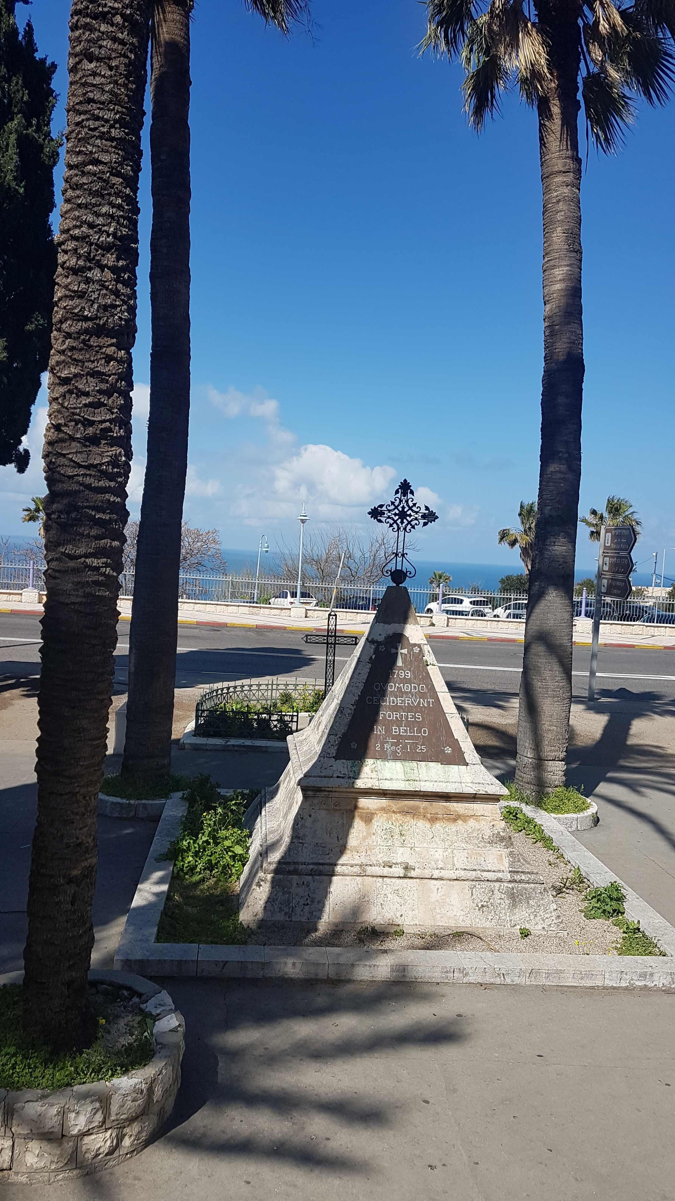Wegen Corona nicht am Jordan entlang, sondern über Haifa.