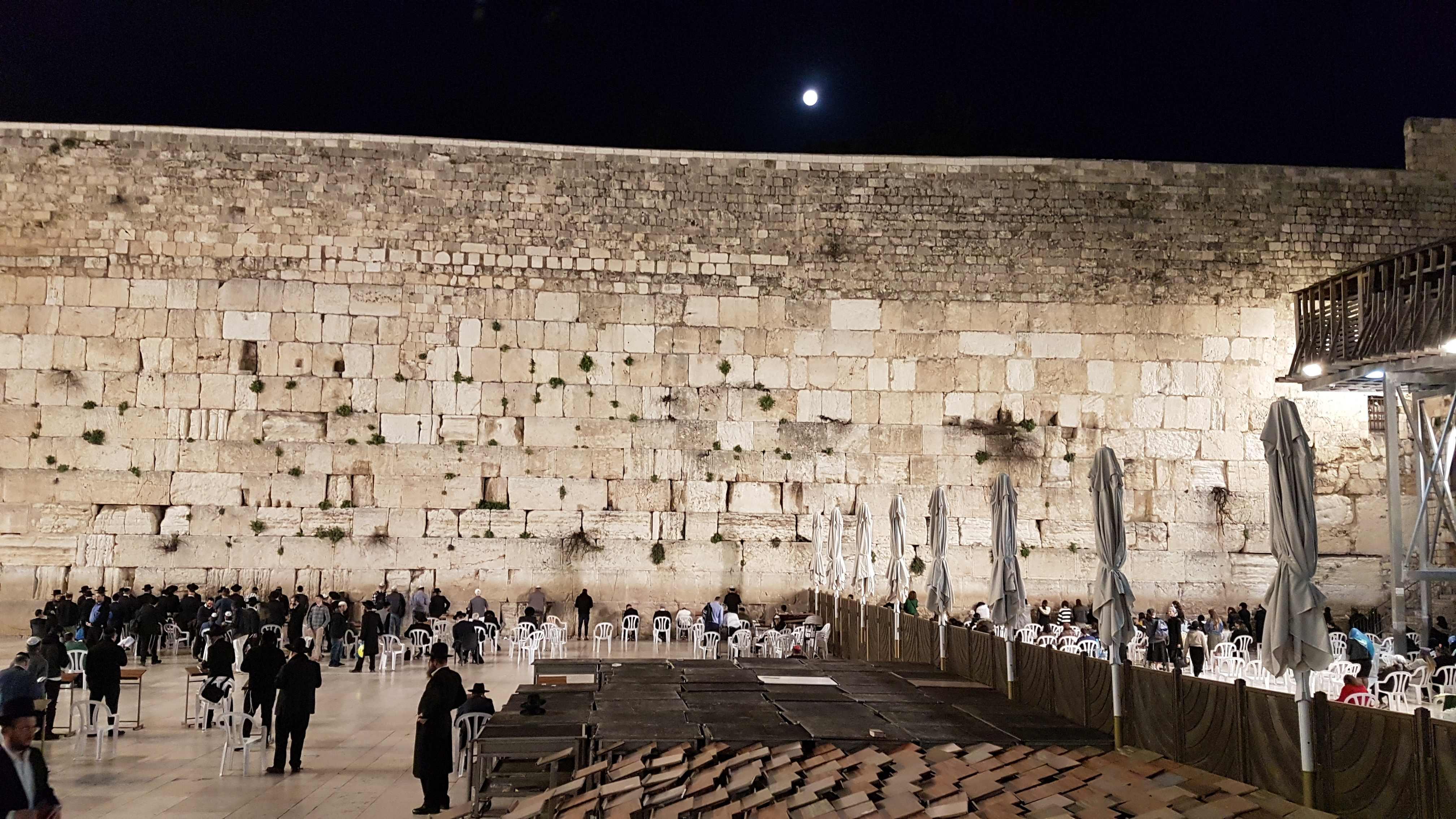Ankunft in Jerusalem am Abend