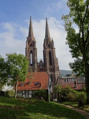 Unverkennbar: die Elisabethkirche