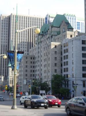 Auch ein sehr feines Hotel, das Lord Elgin in Ottawa.