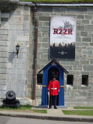 Die Zitadelle, ursprünglich zum Schutz vor den USA errichtet.