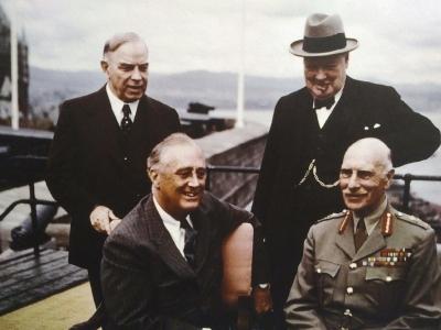 Diese Herren waren schon 1943 hier.