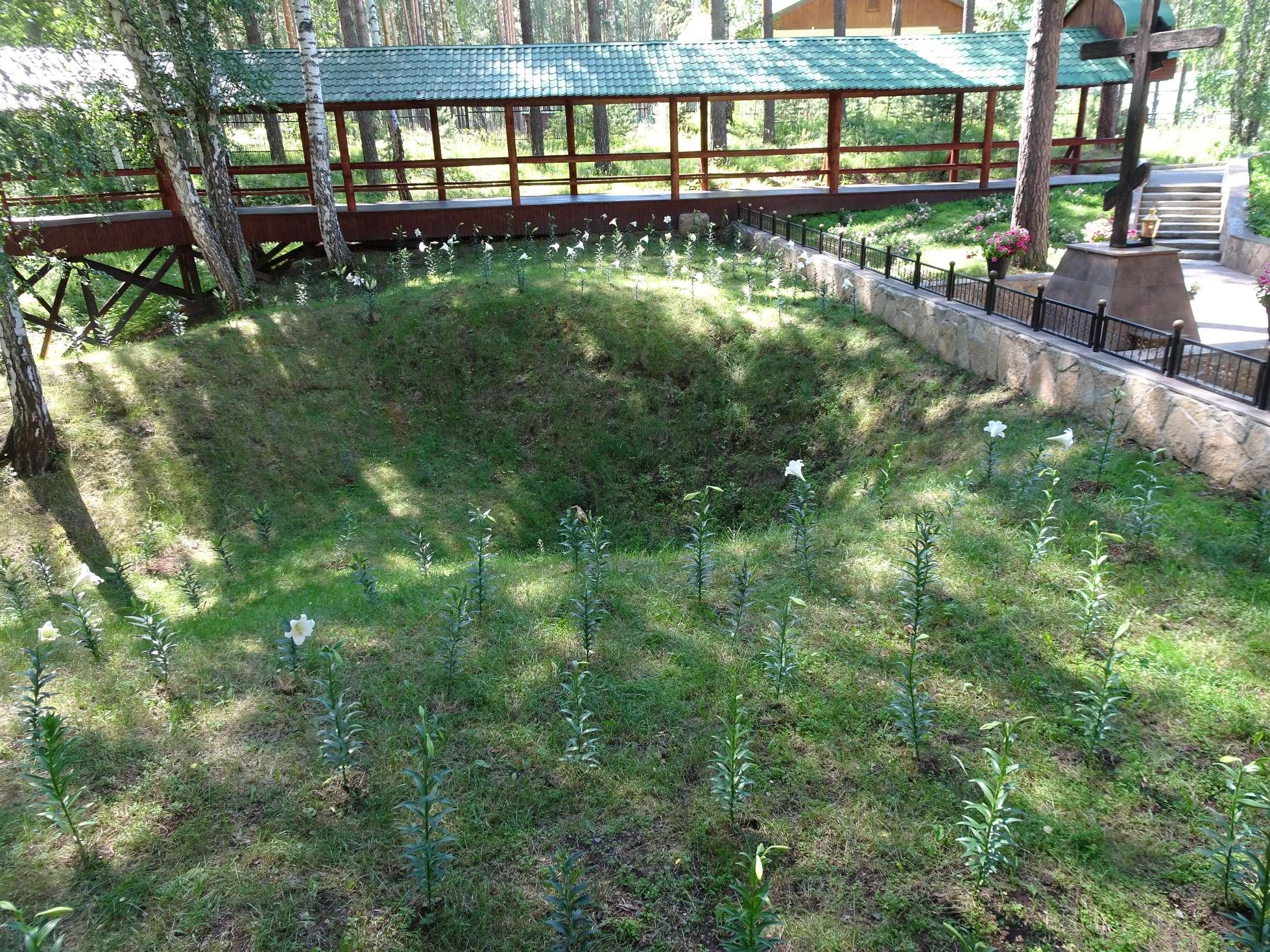 Hier wurden (angeblich) die Leichen der Zarenfamilie begraben. Bis auf Anastasia natürlich... ;-)