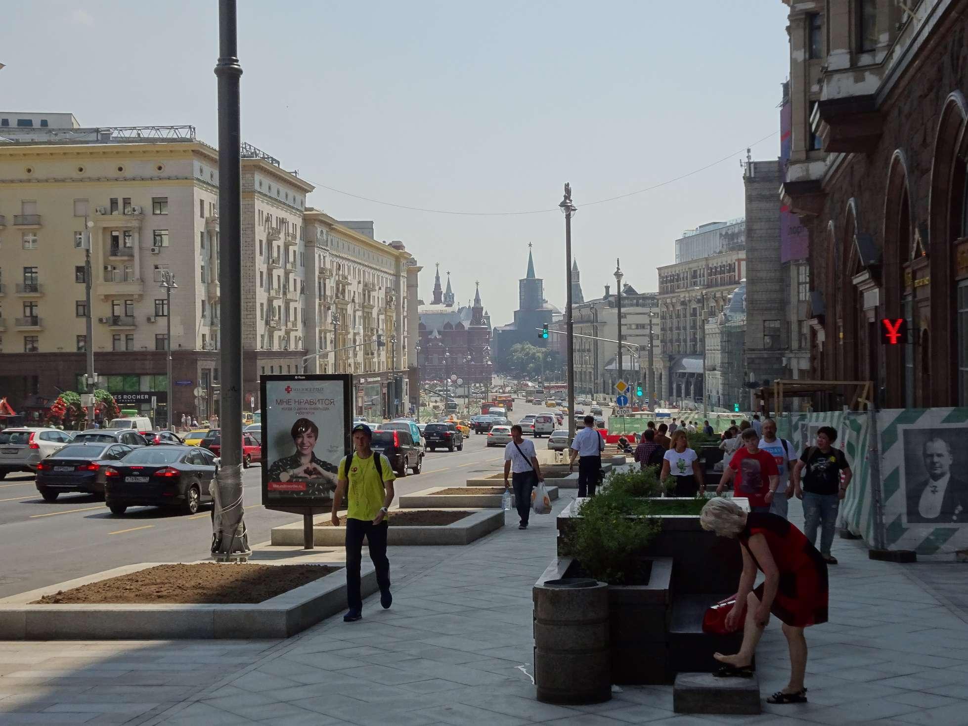 Moskau ist die letzte Station unserer Reise