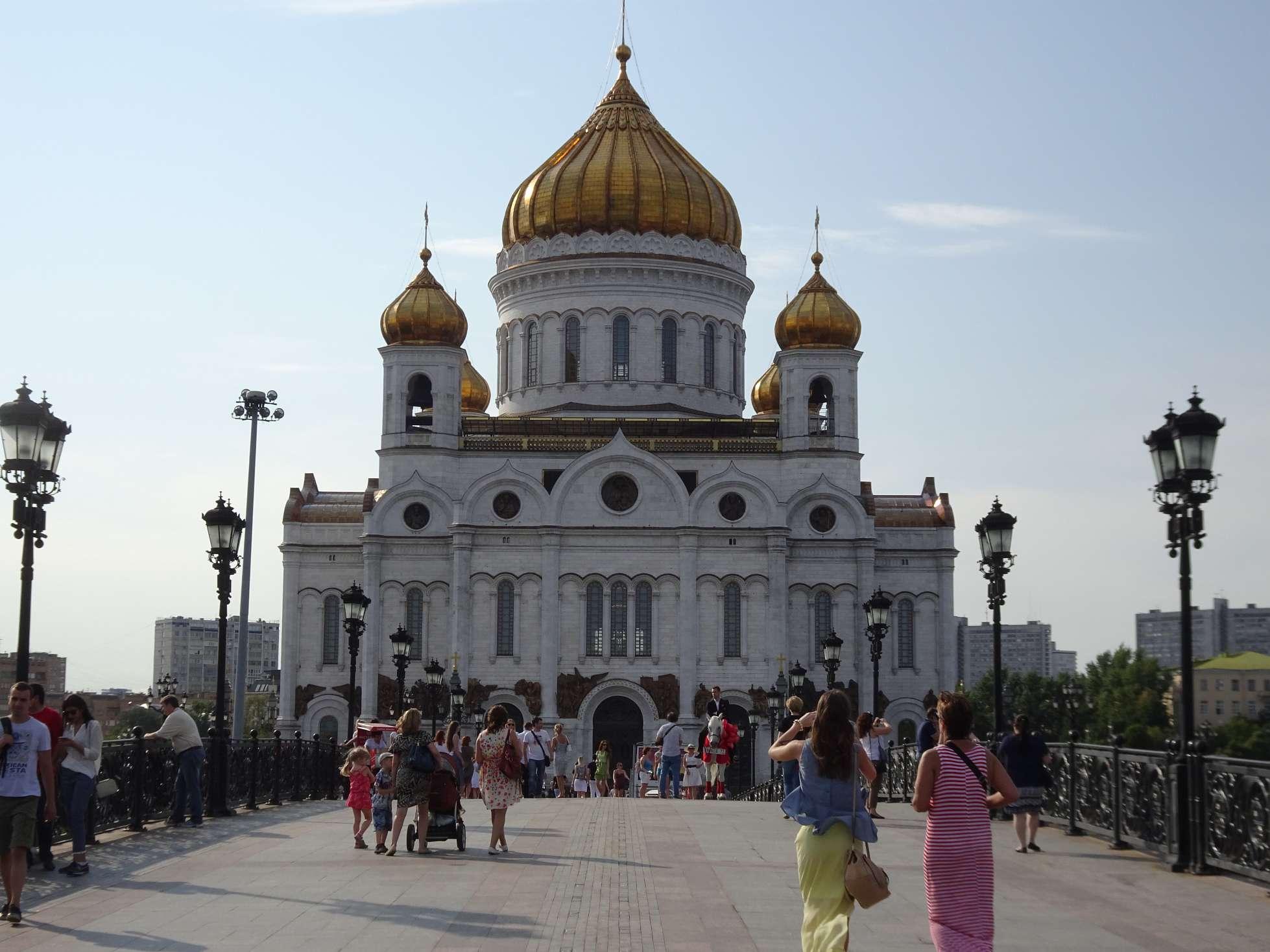 Erlöser-Kathedrale, u.a. bekannt durch Pussy Riot