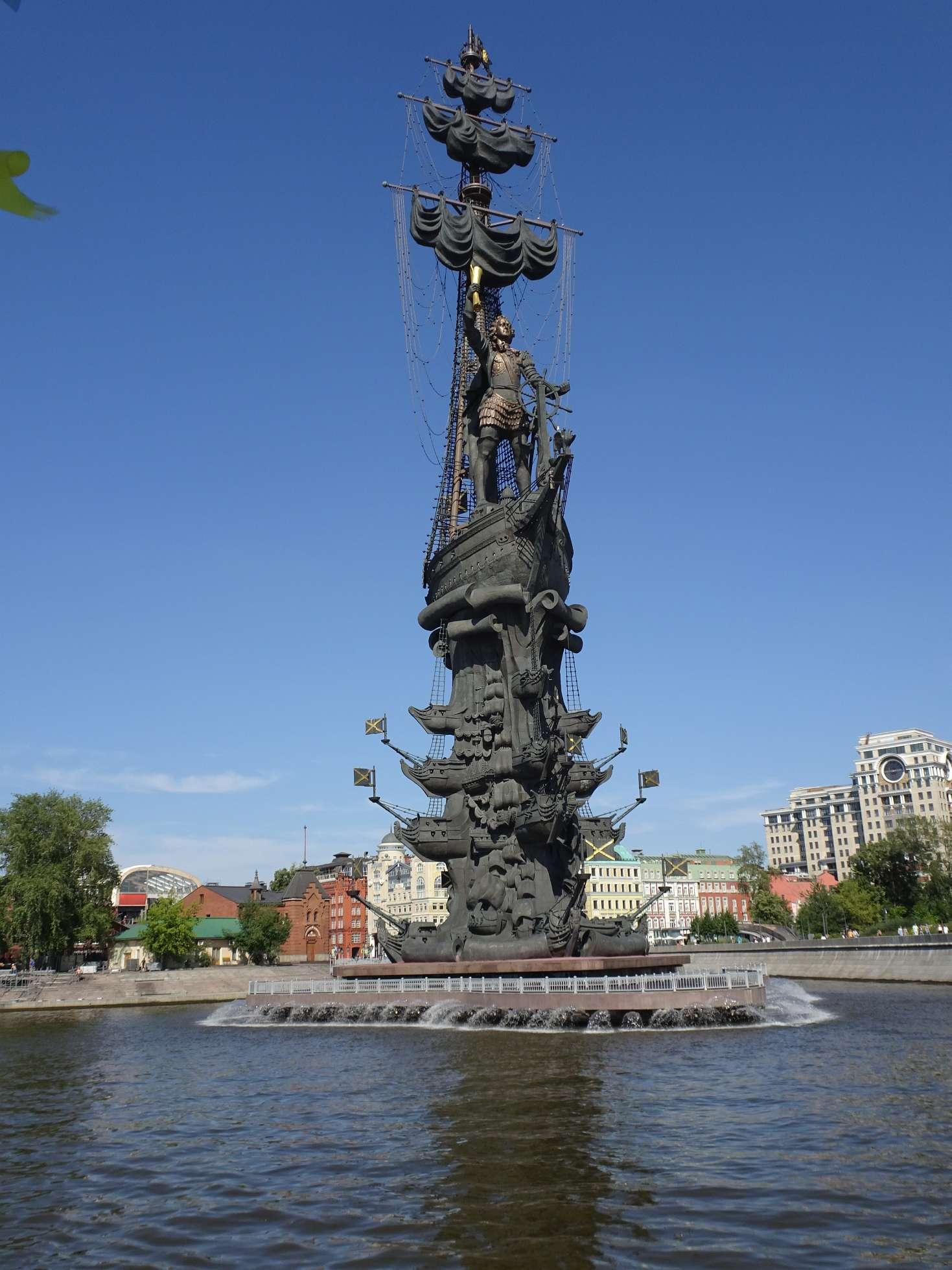 Denkmal für Peter I. ... über den künstlerischen Wert lässt sich streiten....