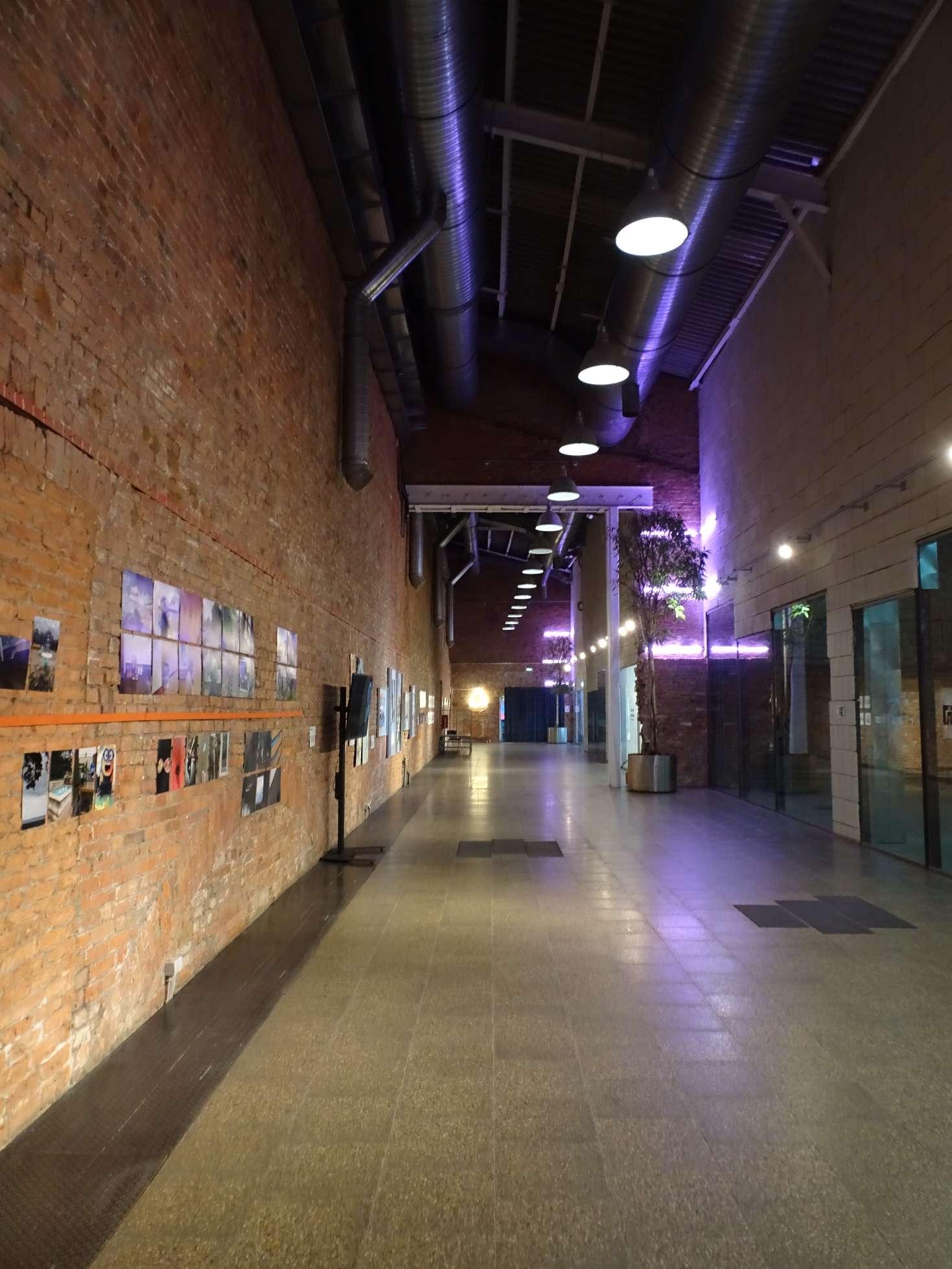 Galerien im ehemaligen Fabrikgelände