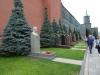 Lenin und Stalin an der Kremlmauer