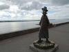 Tschechow äußerte sich abfällig nach seinem Besuch, deshalb gibt es jetzt ein ironisches Denkmal.