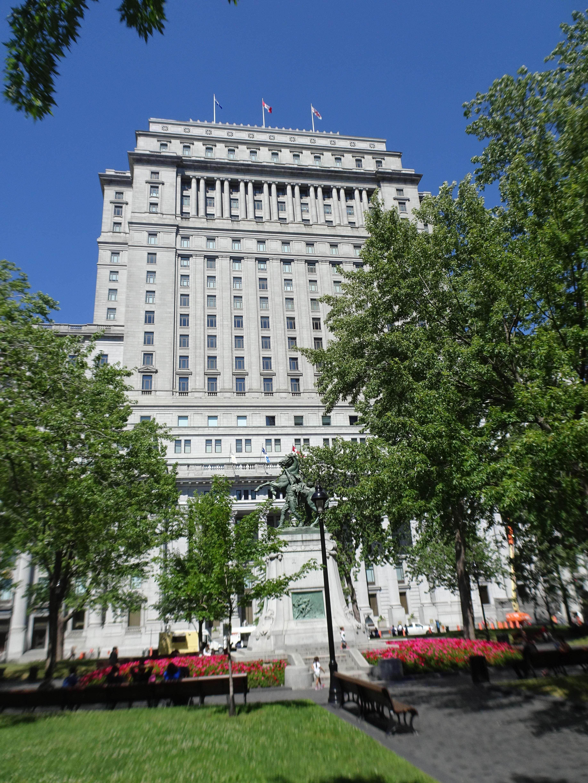 Das Sun Life Building, hier brachte Churchill die britischen Goldreserven während des 2. Weltkrieges unter.