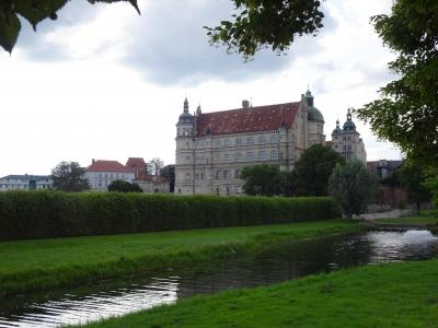 Wieder ein Schloss, aber jetzt in Güstrow.