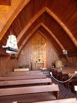 Die Schifferkirche in Ahrenshoop