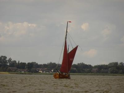Segeln auf dem Bodden: unser Schwesterschiff