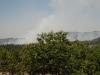 An den Waldbränden vorbei