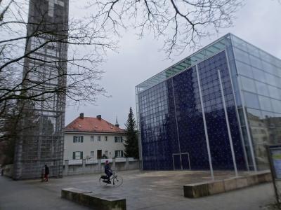 Silvester mal wieder in München... die Herz-Jesu-Kirche
